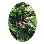 forest light Ornament (Oval)