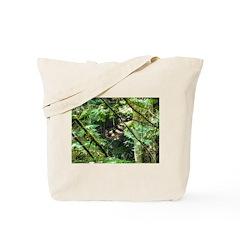 forest light Tote Bag
