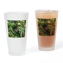 forest light Drinking Glass