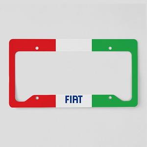 Frame - Fiat / Italy Flag License Plate Holder