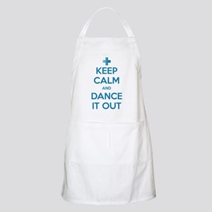 Keep Calm and Dance It Out Apron