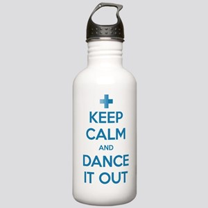 Keep Calm and Dance It Out Stainless Water Bottle