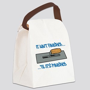 Finishing Trowel Canvas Lunch Bag
