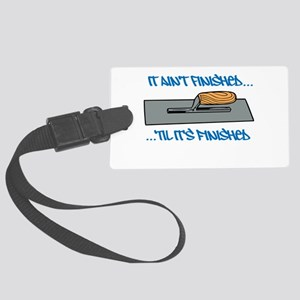 Finishing Trowel Luggage Tag