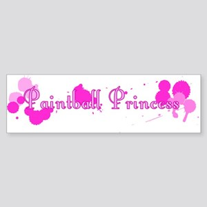 Paintball Princess Bumper Sticker