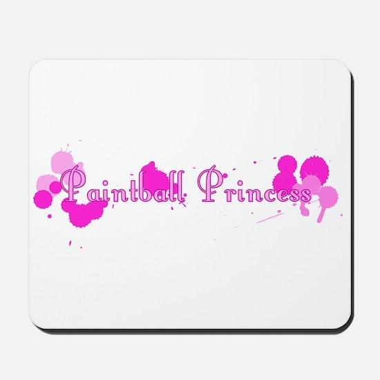 Paintball Princess Mousepad