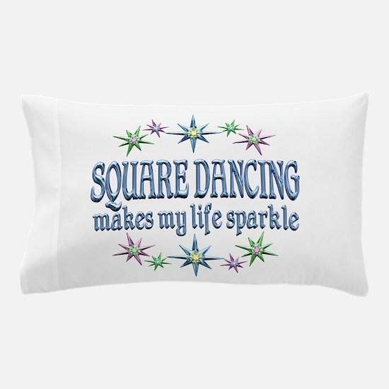 Square Dancing Sparkles Pillow Case