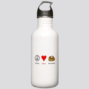 Peace Love Pancakes Stainless Water Bottle 1.0L