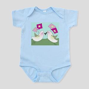 Blushing Birds Infant Bodysuit