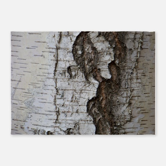 Birch tree 5'x7'Area Rug