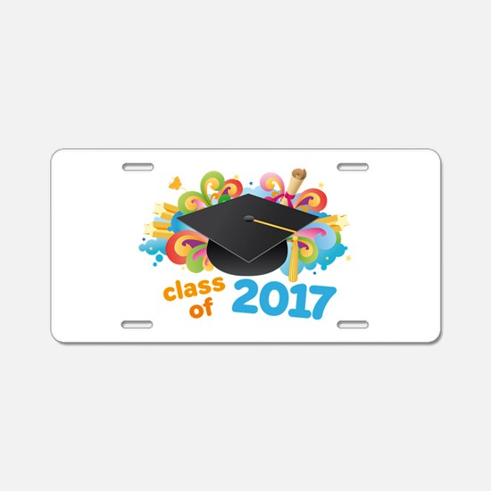 2017 graduation Aluminum License Plate