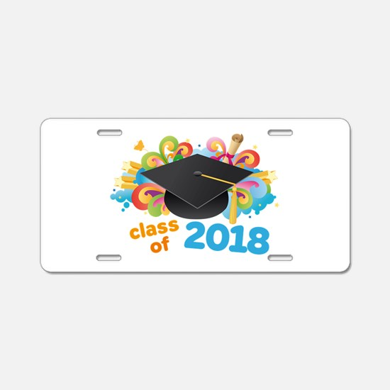 2018 graduation Aluminum License Plate