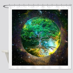 Health Healing Shower Curtain