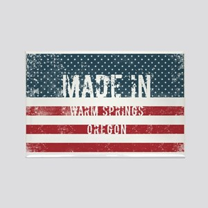 Made in Warm Springs, Oregon Magnets