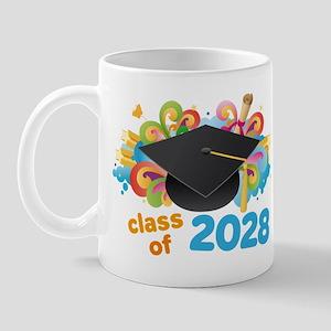 2028 graduation Mug