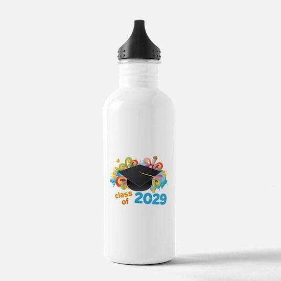 2029 graduation Water Bottle
