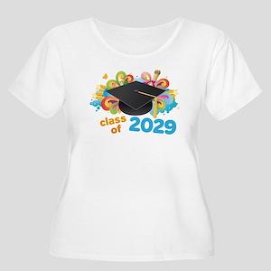 2029 graduati Women's Plus Size Scoop Neck T-Shirt