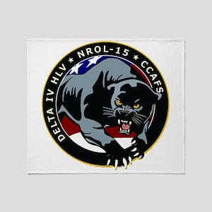 NROL-15 Program Throw Blanket