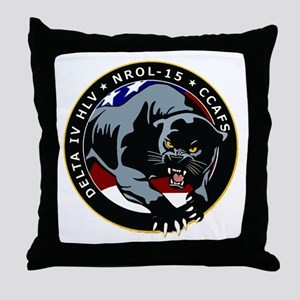 NROL-15 Program Throw Pillow