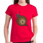 Cheeky snail Women's Coloured T-Shirt