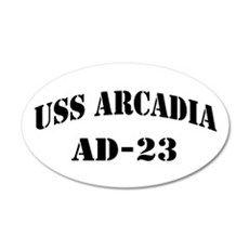 USS ARCADIA Wall Decal