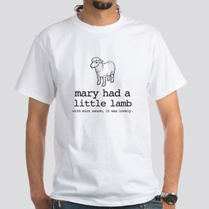 Mary Had A Little Lamb T-Shirt