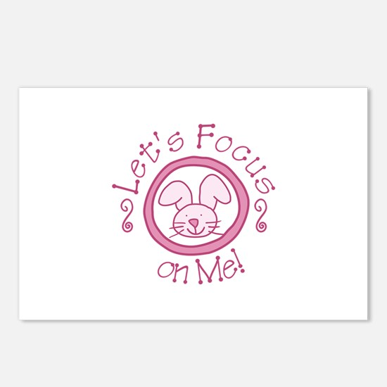 Focus On Me Postcards (Package of 8)