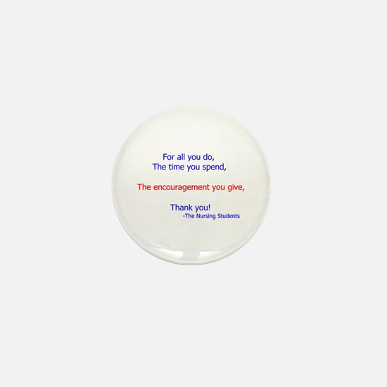 Cute Instructor Mini Button