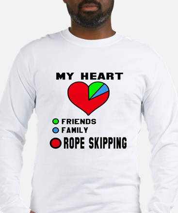 My Heart Friends, Family and R Long Sleeve T-Shirt
