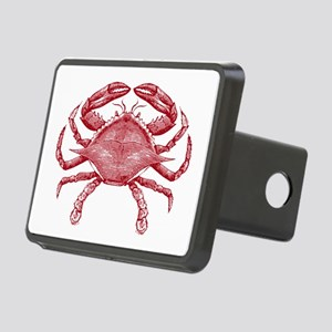 Vintage Crab Rectangular Hitch Cover