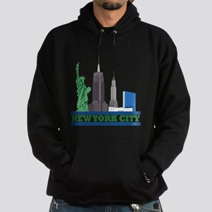 New York City Skyline Hoodie