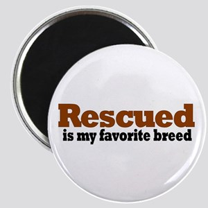 Rescued Breed Magnet