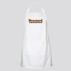 Rescued Breed BBQ Apron