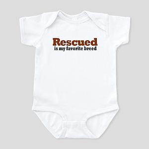 Rescued Breed Infant Bodysuit