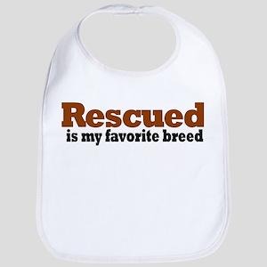 Rescued Breed Bib