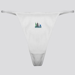 New York City Skyline Classic Thong