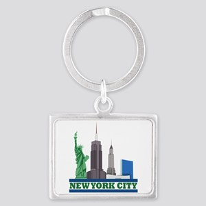 New York City Skyline Keychains