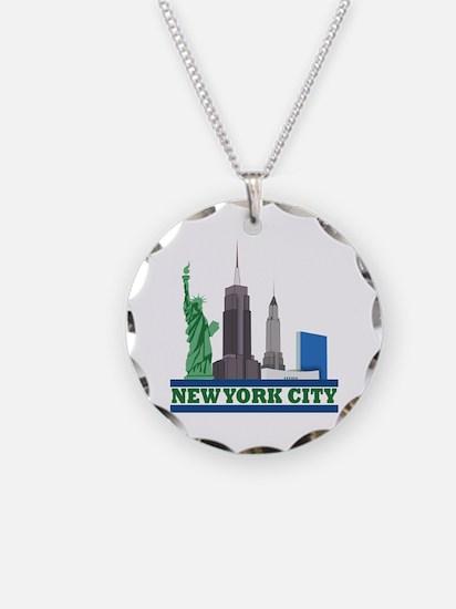 New York City Skyline Necklace