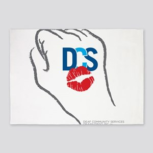 KissFist DCS 5'x7'Area Rug