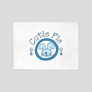 Cutie Pie 5'x7'Area Rug