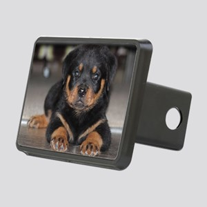 rottweiler Rectangular Hitch Cover
