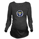 USS BAGLEY Long Sleeve Maternity T-Shirt