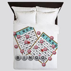 Bingo Cards Queen Duvet