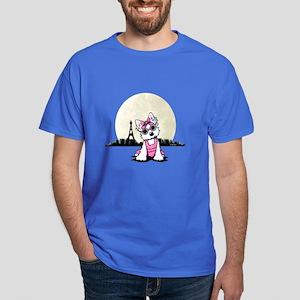 KiniArt Paris Night Olivia Dark T-Shirt