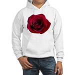 Red Rose Hooded Sweatshirt