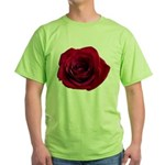 Red Rose Green T-Shirt