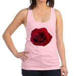 Red Rose Racerback Tank Top