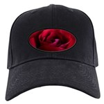 Red Rose Black Cap