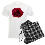 Red Rose Men's Light Pajamas