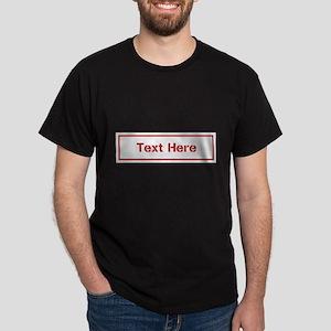 Custom Cargo Label T-Shirt